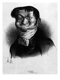 Thi'  Caricature of Adolphe Thiers from 'Le Charivari'  2 June  1833 (Litho)
