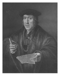 Portrait of Sir John More (C1451-1530)  Engraved by WTMote (Engraving)
