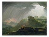 Joshua Commanding the Sun to Stand Still Upon Gibeon  c1840