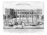 Custom House for the Port of London  1724 (Engraving)