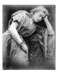 Illustration for the Poem 'Mariana' by Alfred  Lord Tennyson  1875 (Albumen Print)