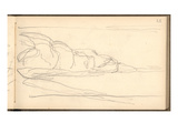 Pourville (Pencil on Paper)