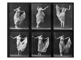 Dancing Woman  Plate 187 from &#39;Animal Locomotion&#39;  1887 (B/W Photo)