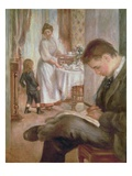 Breakfast at Berneval  1898