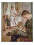 Breakfast at Berneval  1898