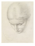 Study of a Woman C1868-71 (Pencil on Paper)