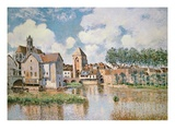 Moret-Sur-Loing  the Porte De Bourgogne  1891