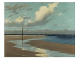 Beach at Low Tide  1890 (Oil on Canvas)