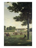The Open Space in Front of the Grand Trianon  1810