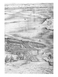 Grande Pianta Prospettica - Venice  C1500 (Engraving) (Right Hand Side)
