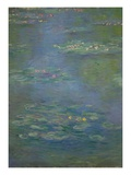 Waterlilies  Detail  1903 (Oil on Canvas)(See also 160198)