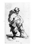 A Man Urinating  1631 (Eching)