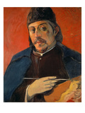 Self Portrait with a Palette  1893-94 (Oil on Canvas)