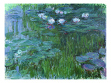 Waterlilies  1914-17 (See Detail 158601) (Oil on Canvas)