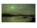 Battersea Bridge  1885 (Oil on Canvas)
