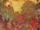 The House Seen from the Rose Garden, 1922-24 Giclée par Claude Monet