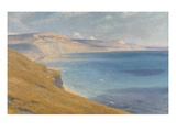 Sea and Sunshine  Lyme Regis  1919 (Oil on Board)