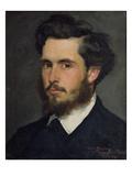 Portrait of Claude Monet (1840-1926) 1867