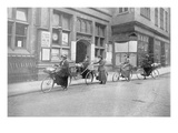 Women Acting as Postmen  War Office Photographs  1916 (B/W Photo)