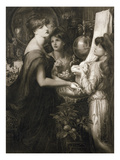 La Bella Mano  1905 (Photogravure) (See 106994)