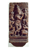 Krishna Playing a Flute (Wood)