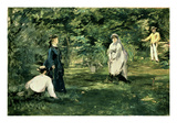 The Game of Croquet  1873