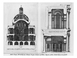 Basilica Saint-Denis  the Valois Tower  C1655 (Engraving) (See also 414688  414690)
