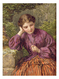 A Woodland Secret  1868 (W/C on Paper)