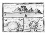 Cap De Bonne Esperance  1705 (Engraving)