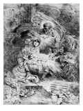 The Nativity  C1645 (Etching)