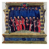 The Aldermen of Toulouse  1554-55 (Vellum)
