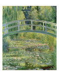 Waterlily Pond  1899 (Oil on Canvas)