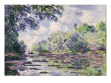 The Seine at Giverny  1885 (Oil on Canvas)