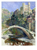The Castle of Dolceacqua  1884 (Oil on Canvas)