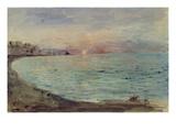 Cliffs Near Dieppe  1852-55 (W/C on Paper)