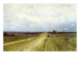 The Vladimirka Road  1892 (Oil on Canvas)
