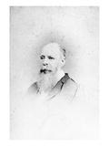 Charles Darwin (B/W Photo)