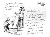 A Letter from Thomas Henry Huxley to Charles Darwin  with a Sketch of Darwin as a Bishop or Saint