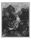The Good Samaritan  1861 (Litho)