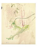 Tree Branches  1893 (W/C on Paper)