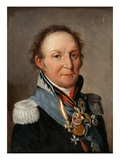 Portrait of Marechal Louis Adolphe Pierre De Wittgenstein (1769-1843) (Oil on Canvas)