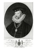 Sir Amias Poulett  Engraved by R Clamp  1796 (Engraving)