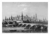 The Kremlin  Moscow (Engraving)
