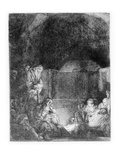 The Entombment  C1654 (Etching)