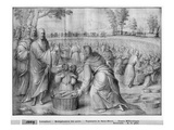 Life of Christ  Multiplication of the Loaves and Fishes  Preparatory Study of Tapestry Cartoon