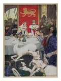 King Arthur's Wedding Feast  1905 (W/C)