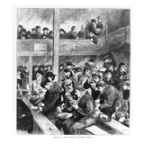 Ned Wright's Thieves' Supper  Published in 'The Graphic' Illustrated Newspaper Saturday