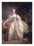 Madame Bergeret  1746 (Oil on Canvas)
