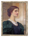 Portrait of Kate Dickens  Wife of the Artist