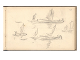 Boats (Pencil on Paper)